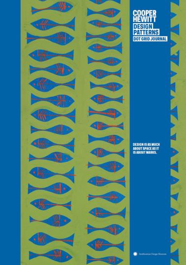 Cooper Hewitt. Fish Design Patterns Journal.