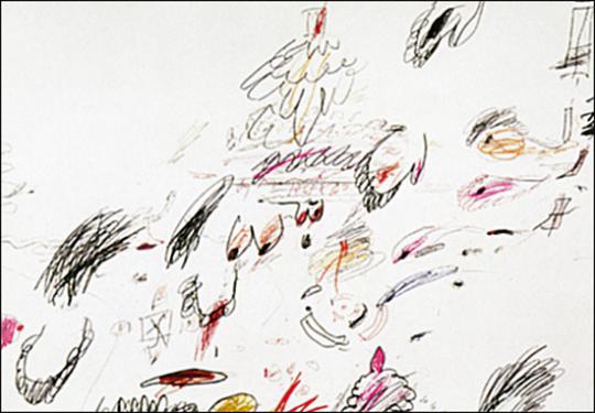 Cy Twombly in der Eremitage - Arbeiten auf Papier aus 50 Jahren