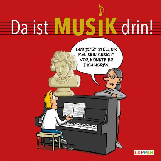 Da ist Musik drin. Cartoons zum Thema Klassische Musik.