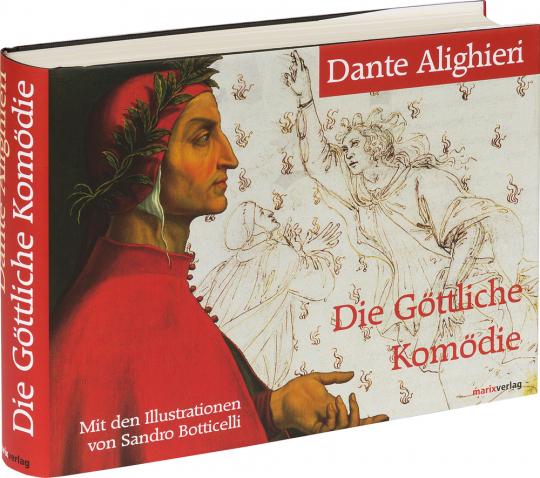Dante Alighieri. Die Göttliche Komödie. Mit den Illustrationen von Sandro Botticelli.