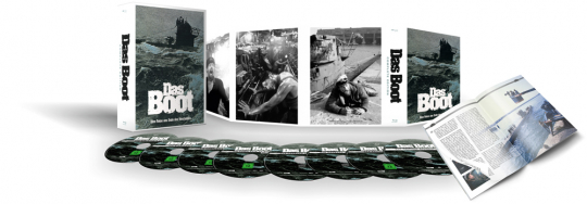 Das Boot (Complete Edition). 5 DVDs, 3 CDs.