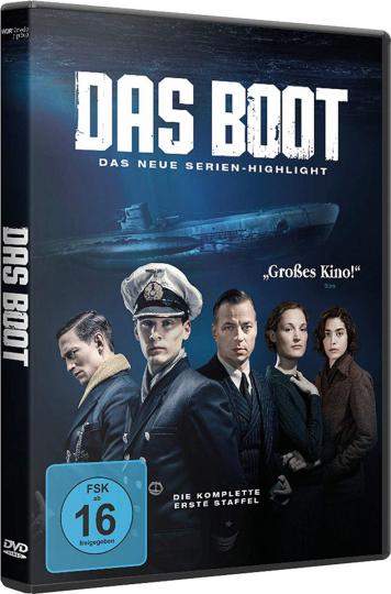 Das Boot. Staffel 1. 3 DVDs.