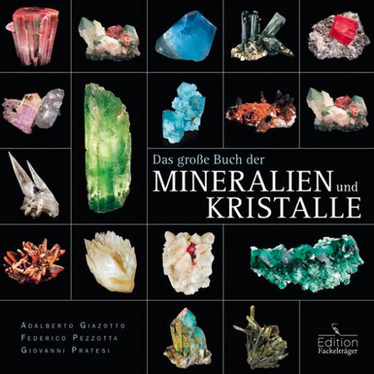 Das große Buch der Mineralien und Kristalle.