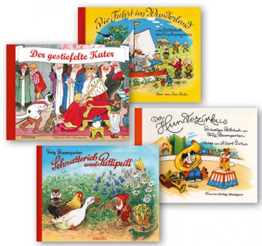 Das große Fritz Baumgarten-Paket. 4 Bände.