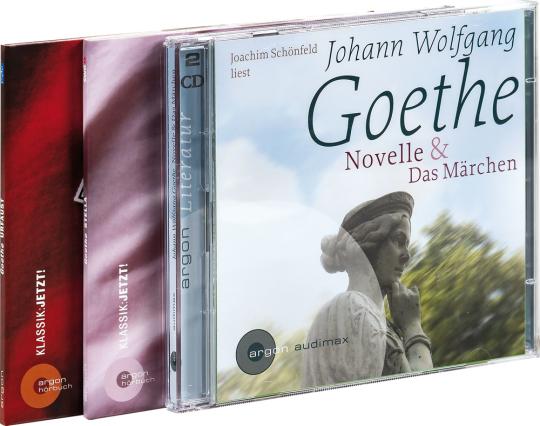 Das große Goethe-Paket. Urfaust, Stella, Novelle & Märchen. 4 CDs.