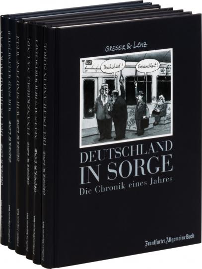 Das große Greser und Lenz Cartoon Paket. 6 Bände.