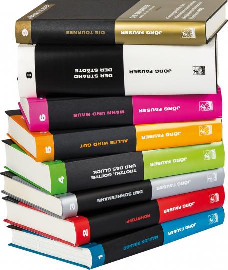 Das große Jörg Fauser Paket. Romane & Gedichte. 8 Bände.