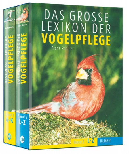 Das große Lexikon der Vogelpflege, 2 Bde. im Schuber