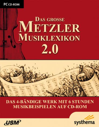 Das große Metzler Musiklexikon 2.0.