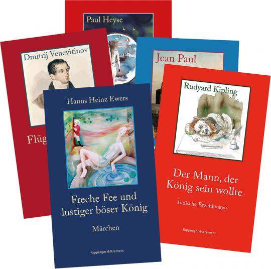 Das große Ripperger und Kremers Klassiker Paket. 5 Bände.
