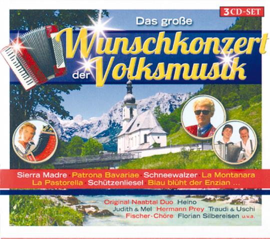 Das große Wunschkonzert der Volksmusik 3 CDs