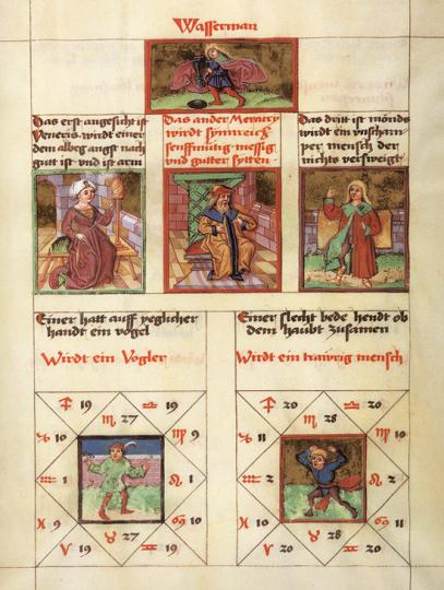 Das Heidelberger Schicksalsbuch. Faksimile des »Astrolabium Planum« aus CPG 832 der Universitätsbibliothek Heidelberg in frühhochdeutscher Übertragung (Bl. 36-83) aus dem 15. Jahrhundert.