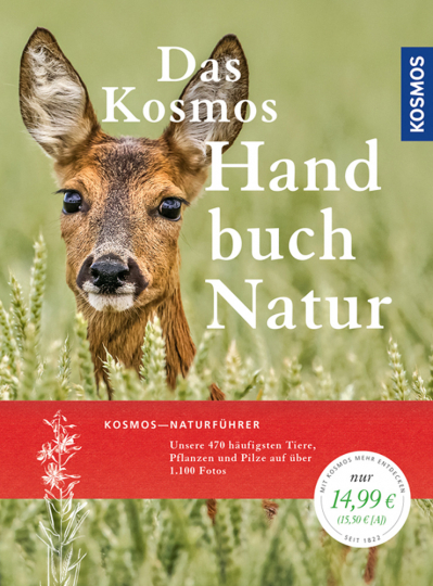 Das Kosmos Handbuch Natur. Unsere 470 häufigsten Tiere, Pflanzen und Pilze auf über 1100 Fotos.