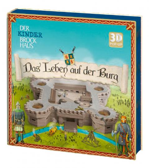 Das Leben auf der Burg. 3D Pop-up.