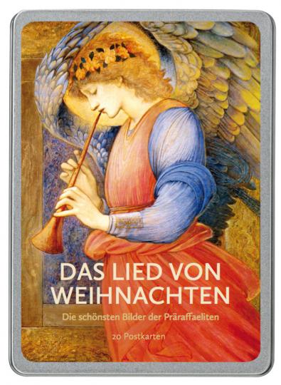 Das Lied von Weihnachten. Die schönsten Bilder der Präraffaeliten. 20 Postkarten.