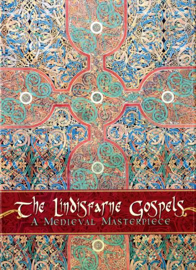 Das Lindisfarne-Evangeliar. 20 Grußkarten mit Umschlägen in Schmuckbox.