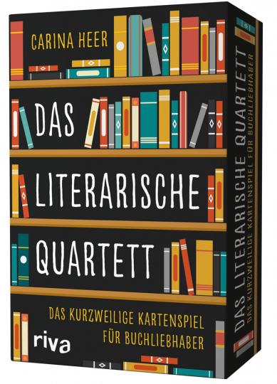 Das literarische Quartett. Das kurzweilige Kartenspiel für Buchliebhaber.