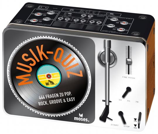 Das Musikquiz. 444 Fragen zu Pop, Rock, Groove und Easy.