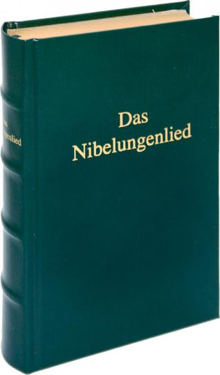 Das Nibelungenlied - Edle Lederausgabe mit Kopfgoldschnitt