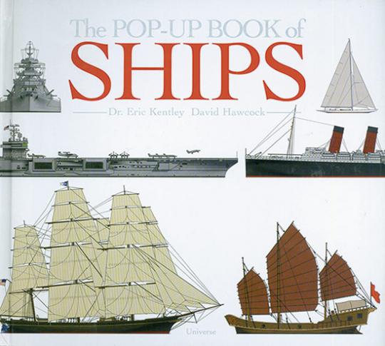 Das Pop Up Buch der Schiffe.
