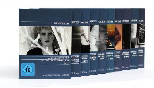 Das Rainer Werner Fassbinder Paket. 10 DVDs.