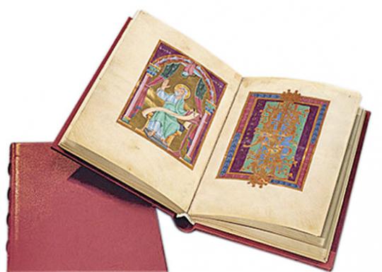 Das Reichenauer Perikopenbuch. Höhepunkt der Reichenauer Buchkunst in kaiserlich-goldenen Bildern.