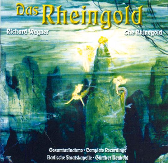 Das Rheingold 4 CDs