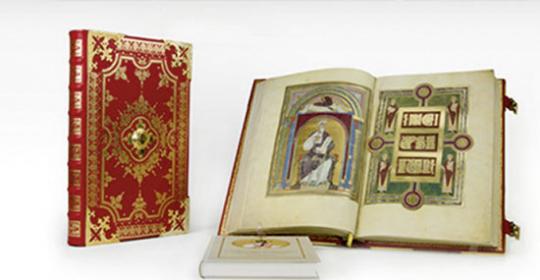 Das Speyerer Evangeliar. Das Goldene Evangelienbuch Kaiser Heinrichs III. Der Codex Aureus Escorialensis. Luxusausgabe.