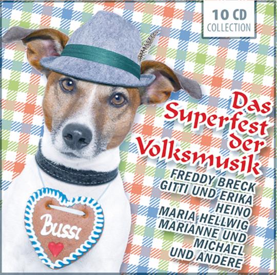 Das Superfest der Volksmusik - 10 CD