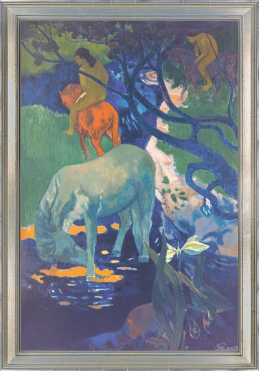 Das weiße Pferd. Paul Gauguin (1848-1903).