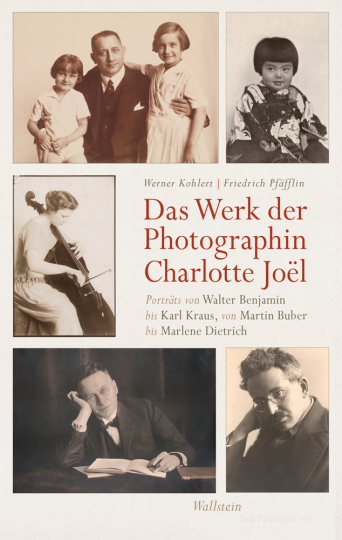 Das Werk der Photographin Charlotte Joël. Porträts von Walter Benjamin bis Karl Kraus, von Martin Buber bis Marlene Dietrich.