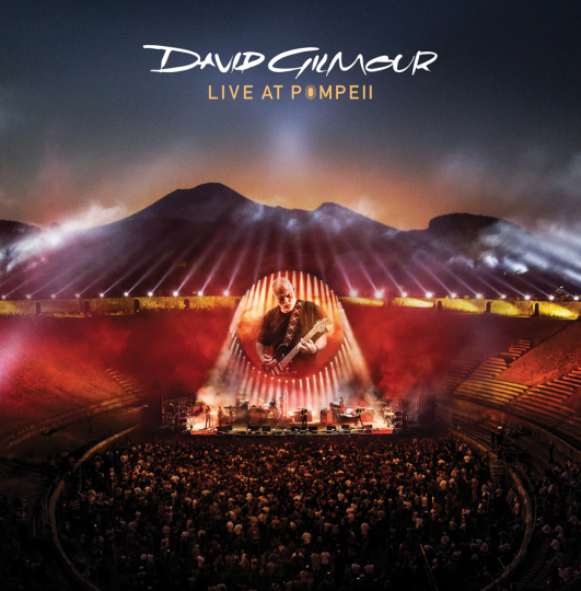 David Gilmour. Live At Pompeii. 4 Vinyl LPs.