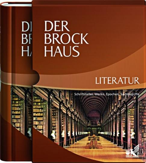 Der Brockhaus Literatur. Schriftsteller, Werke, Epochen, Sachbegriffe.