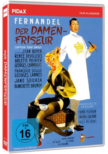 Der Damenfriseur. DVD.