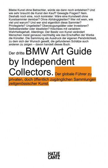 Der dritte BMW Art Guide by Independent Collectors.