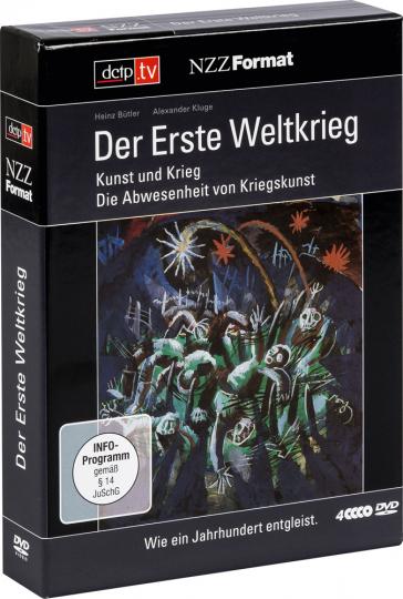 Der erste Weltkrieg. Kunst und Krieg. Die Abwesenheit von Kriegskunst.