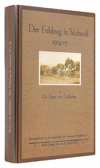 Der Feldzug in Südwest 1914/15 - Reprint der Originalausgabe von 1923