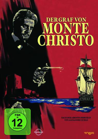 Der Graf von Monte Christo. DVD.