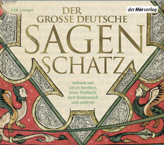 Der große deutsche Sagenschatz. 6 Audio-CDs.