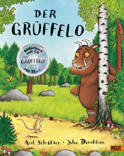 Der Grüffelo. Bilderbuch mit CD.