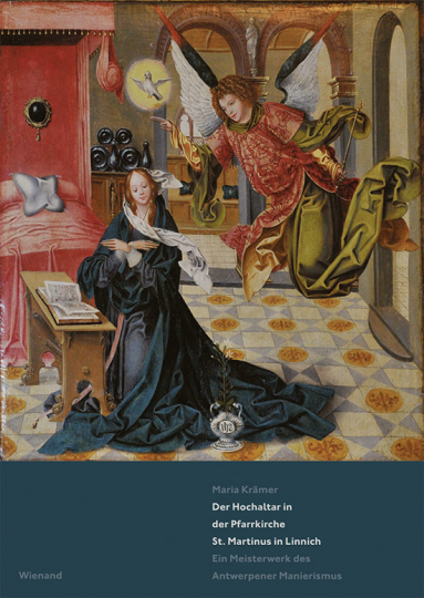 Der Hochaltar in der Pfarrkirche St. Martinus in Linnich. Ein Meisterwerk des Antwerpener Manierismus.