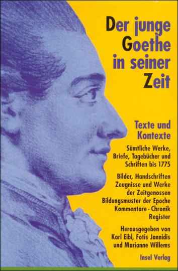 Der junge Goethe in seiner Zeit. Texte und Kontexte. 2 Bde. + CD-ROM.