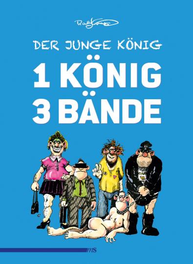 Der junge König. Sonderausgabe. Ein König, drei Bände im Schuber.