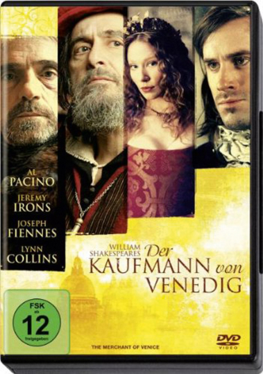 Der Kaufmann von Venedig. DVD.
