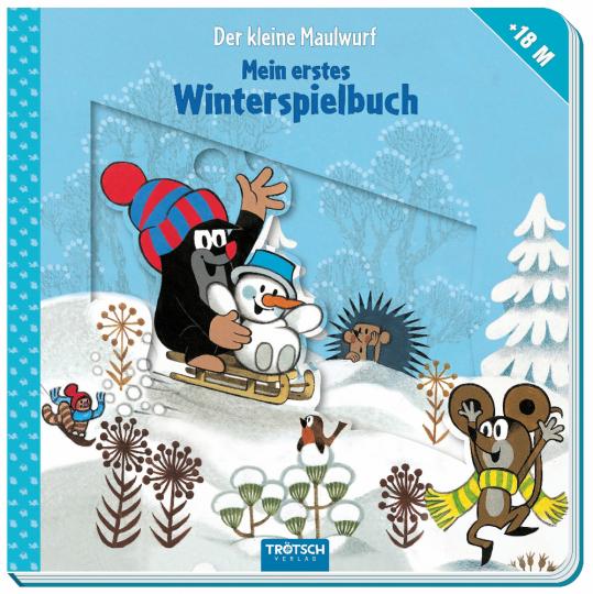 Der kleine Maulwurf. Winterspielbuch.