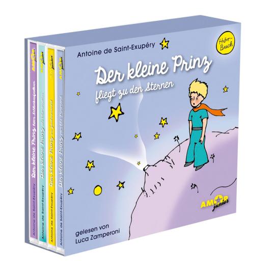 Der kleine Prinz fliegt zu den Sternen, Box I (Folgen 1 bis 4).