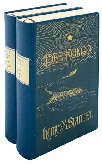 Der Kongo 2 Bände und zahlreiche Karten - Neudruck der historischen Ausgabe