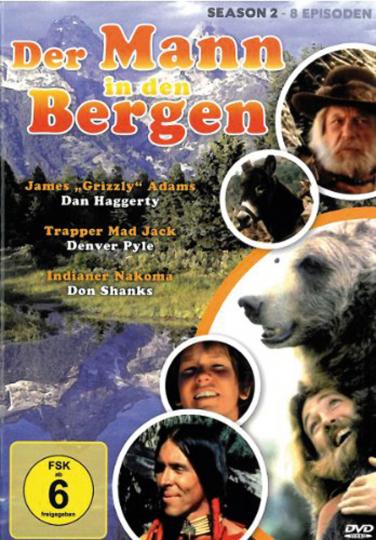 Der Mann in den Bergen Staffel 2. 2 DVDs.