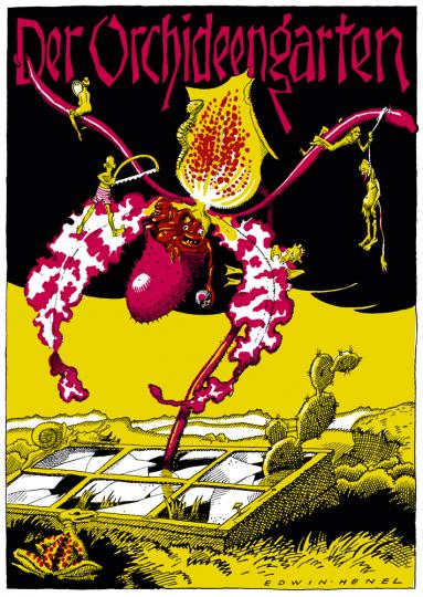 Der Orchideengarten. Phantastische Blätter. No. 1. Reprint.