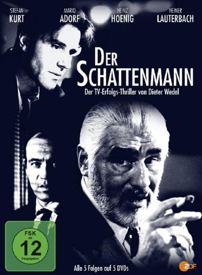 Der Schattenmann. 5 DVDs